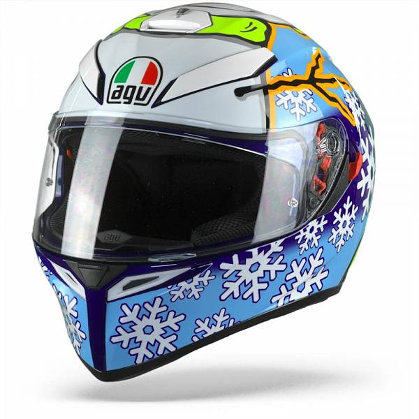 AGV K3 SV Max Vision Rossi Winter Test 2016 Casque IntŽgral MS