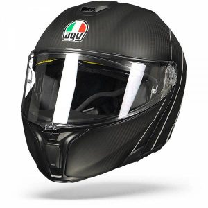 AGV Sportmodular Refractive Carbone Argent L