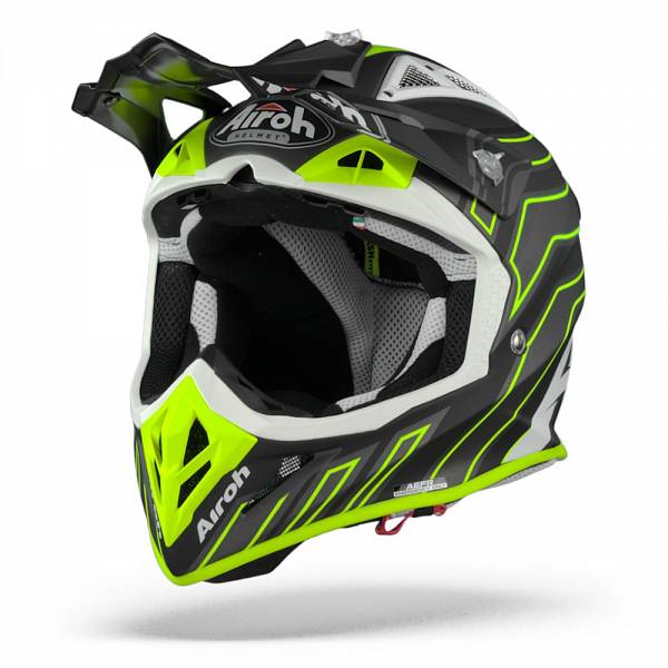 Airoh Aviator ACE Art Casque Motocross Noir Mat M