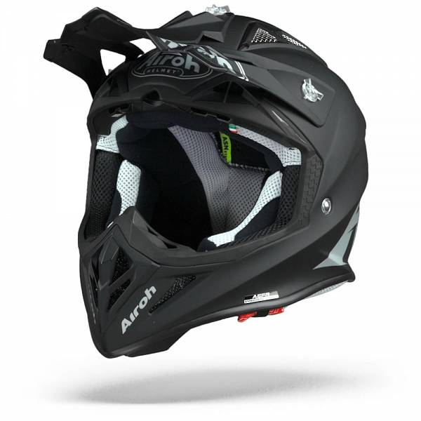 Airoh Aviator ACE Color Casque Motocross Noir Mat L