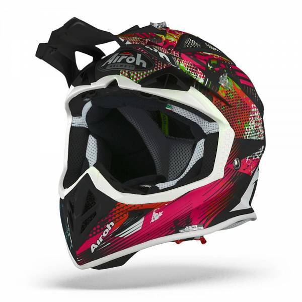 Airoh Aviator ACE Insane Mat Casque Motocross XL
