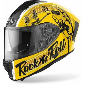 Airoh Spark Rock'N'Roll Gloss Casque IntŽgral 2XL
