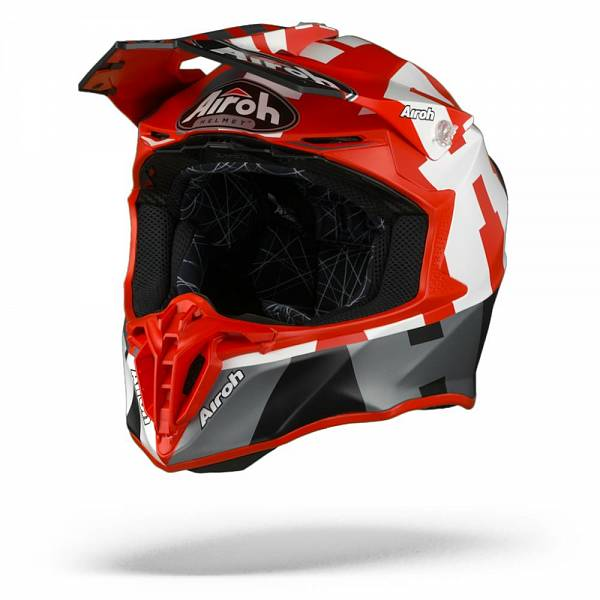 Airoh Twist 2.0 Frame Casque Motocross Rouge Mat M