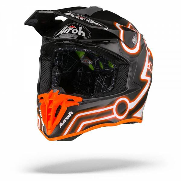 Airoh Twist 2.0 Neon Casque Motocross Orange Mat M