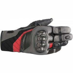 Alpinestars Belize Drystar Gants Noir Anthracite Rouge XL