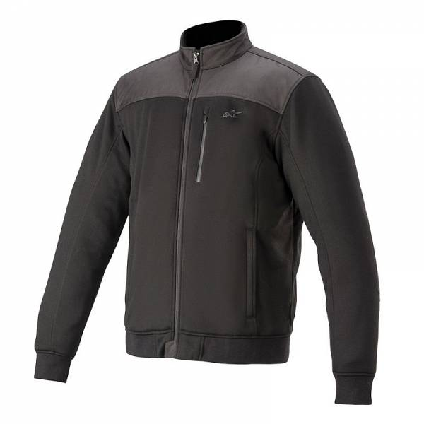 Alpinestars Cafe Track Fleece Sweat Moto Noir M