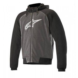 Alpinestars Chrome Sport Anthracite Sweat A Capuche Noir Blanc XL