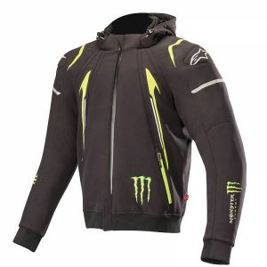 Alpinestars Monster Mercury Hoodie / Sweat Ë Capuche Noir Vert 2XL