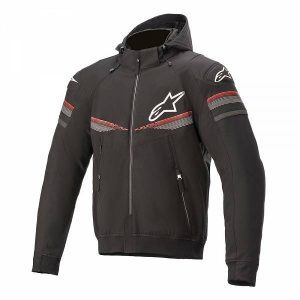 Alpinestars Sektor V2 Tech Sweat Moto Noir Rouge Brillant 2XL