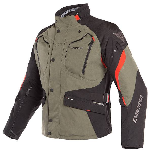 Dainese Dolomiti Veste Gore-Tex Grape Leaf Noir Rouge 48