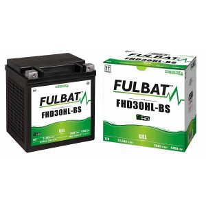 Fulbat Fhd30hl-Bs Gel (H.D.) Motorcycle Battery