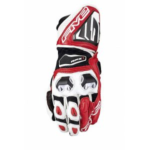 Five RFX1 Gants Blanc Rouge S
