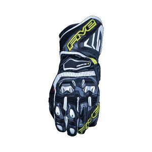 Five RFX1 Replica Gants Moto Camo Jaune Fluo L