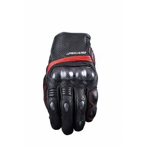 Five Sportcity S Gants Carbone Noir Rouge 2XL
