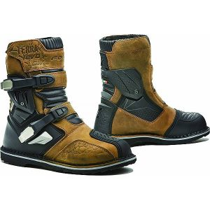 Forma Terra Evo Low Bottes De Moto Marron 39