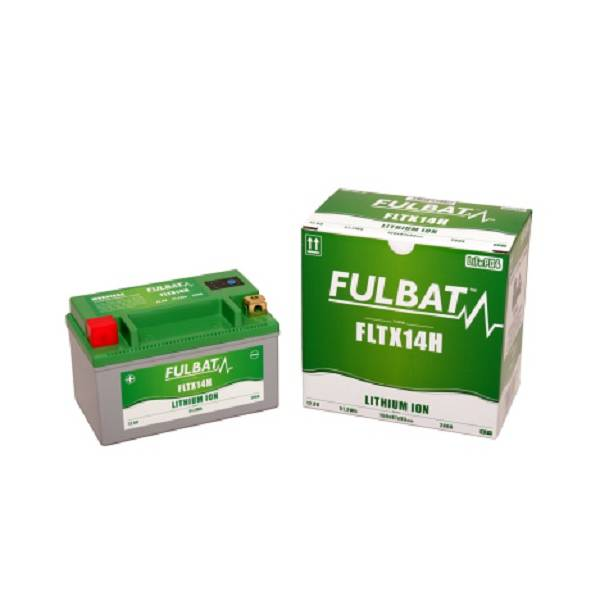 Fulbat FLTX14H Lithium-Ion Motorcycle Battery