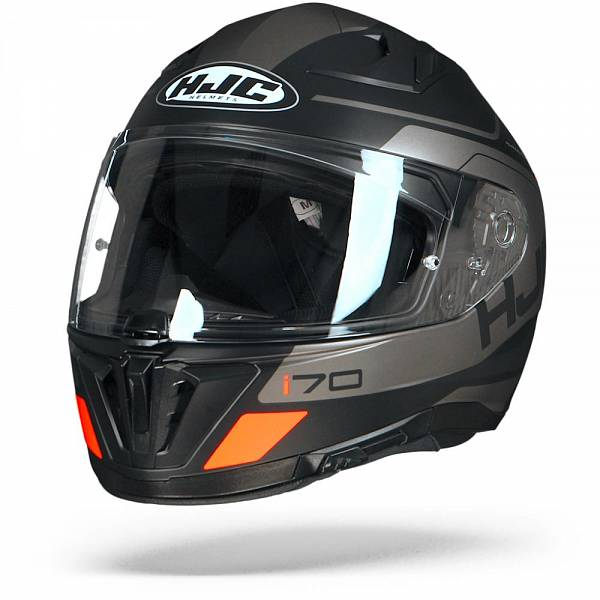 HJC I70 Karon MC5SF Casque IntŽgral Noir Gris Orange 2XL