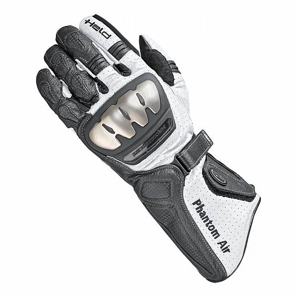Held Phantom Air Gants De Moto Noir Blanc 12