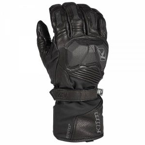 Klim Badlands Gore-Tex Gants De Moto Long Noir M