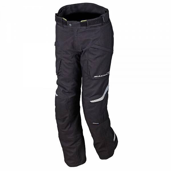 Macna Logic Short Pantalon De Moto Court Noir 2XL