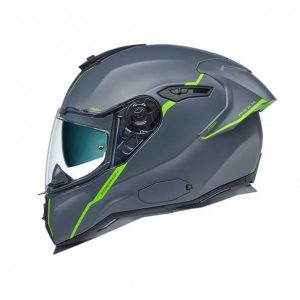 Nexx SX.100R Shortcut Grey Neon Matt Full Face Helmet L