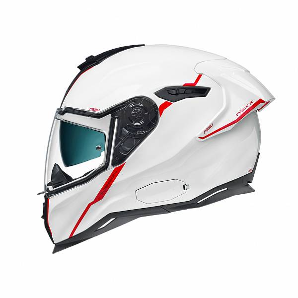 Nexx SX.100R Shortcut White Red Full Face Helmet XL