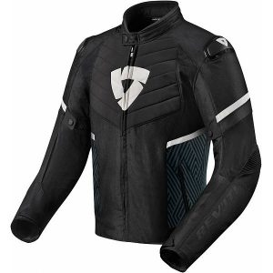 REV'IT! Arc H2O Veste De Moto Noir Blanc S