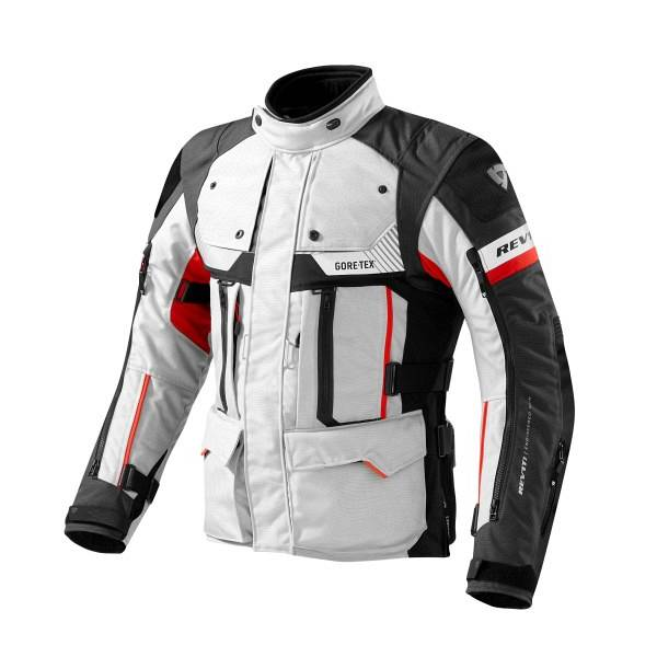 REV'IT! REV'IT Defender Pro Gore-Tex Veste De Moto Gris Rouge S