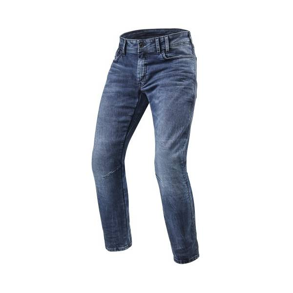 REV'IT! Detroit TF Jean Moto Bleu Medium L36/W36