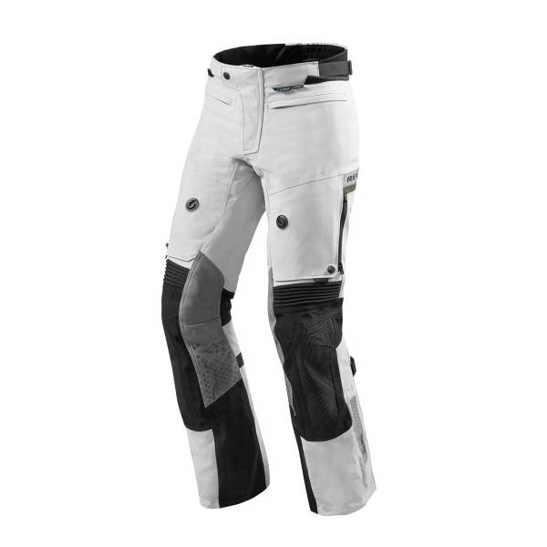 REV'IT! Dominator 2 Gore-Tex Short Pantalon De Moto Court Gris Clair Vert 2XL