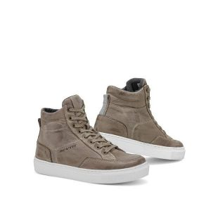 REV'IT! REV'IT Emerald Ladies Chaussures De Moto Taupe Blanc 37
