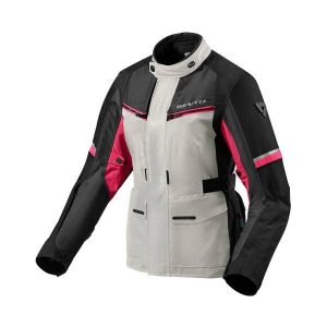 REV'IT! OUTBACK 3 LADIES VESTE MOTO ARGENT FUCHSIA 40