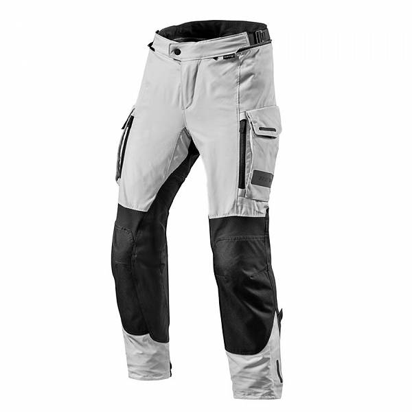 REV'IT! Offtrack Short Pantalon De Moto Court Noir Argent M