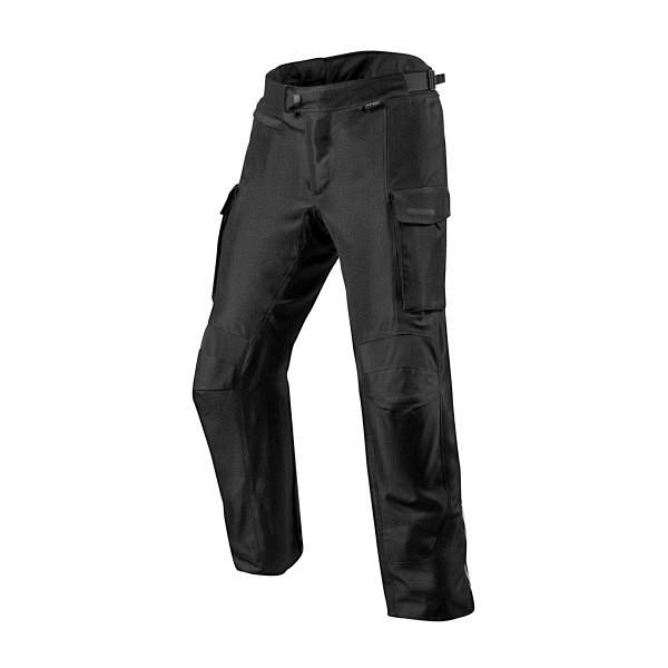 REV'IT! Outback 3 Short Pantalon De Moto Court Noir L