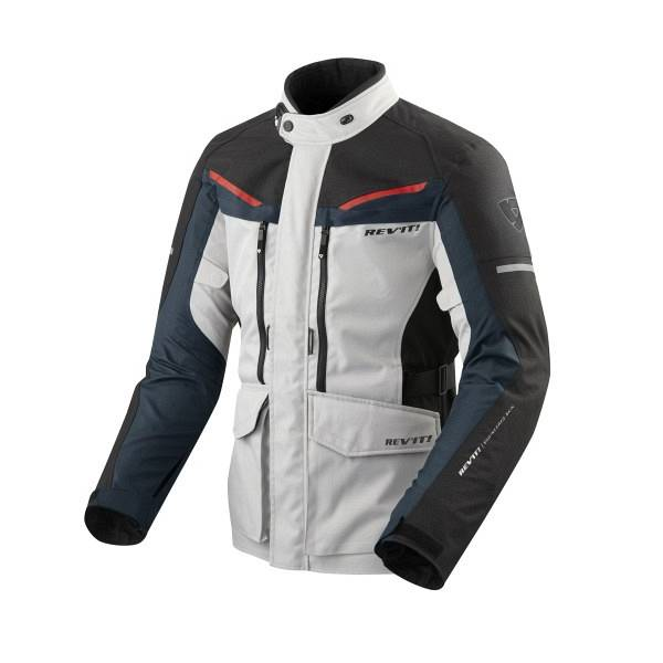 REV'IT! REV'IT Safari 3 Veste De Moto Argent Bleu XL