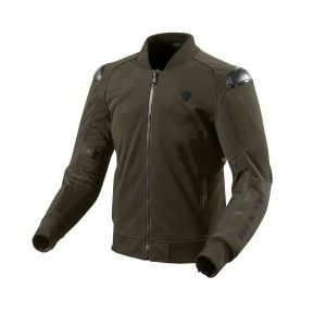 REV'IT! REV'IT Traction Veste De Moto Vert FoncŽ Noir S