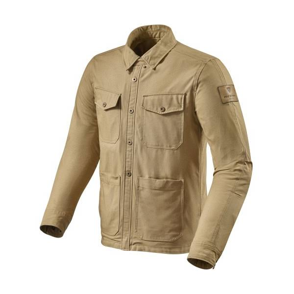 REV'IT! Worker Sand Motorcycle Overshirt S