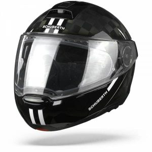Schuberth C4 Pro Carbon Fusion Casque Modulable Blanc S