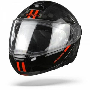 Schuberth C4 Pro Carbon Fusion Casque Modulable Rouge S