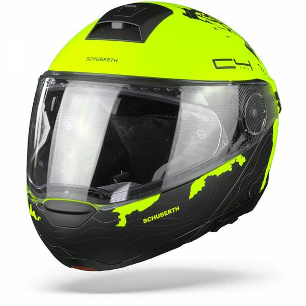 Schuberth C4 Pro Women Magnitudo Casque Modulable Jaune M