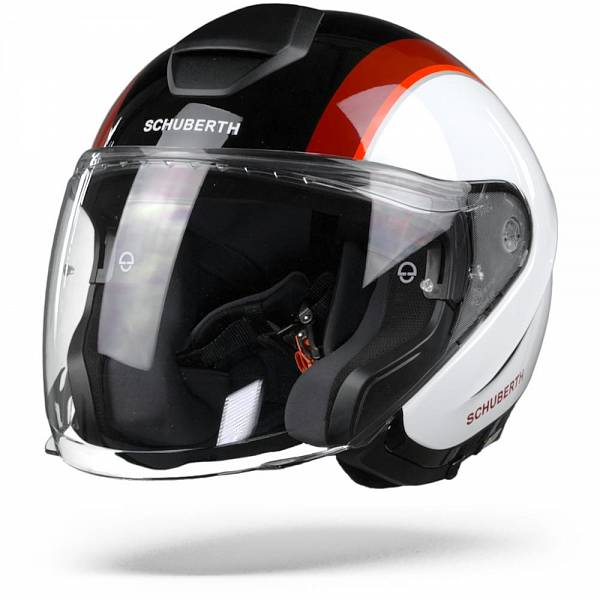 Schuberth M1 Pro Outline Casque Jet Rouge L