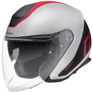 Schuberth M1 Pro Triple Casque De Moto Jet Rouge XL