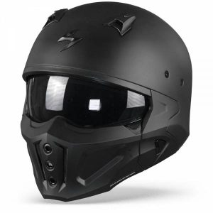 Scorpion Covert-X Solid Casque Jet Noir Mat L