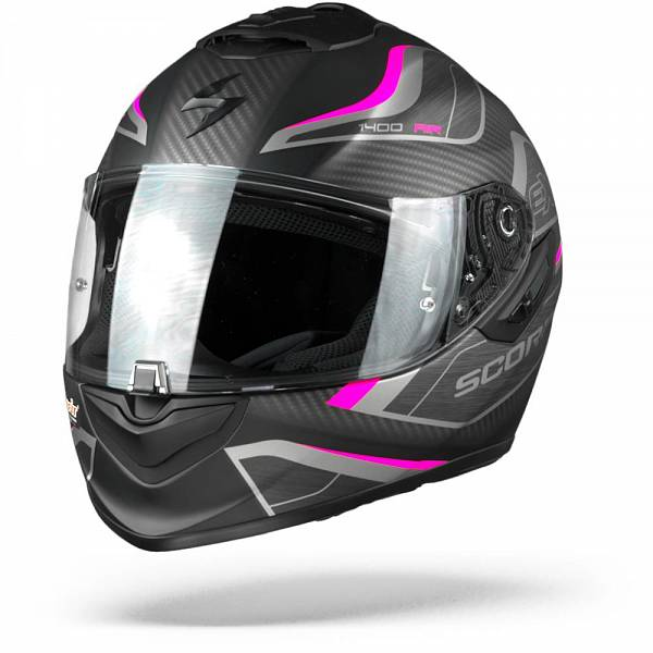 Scorpion EXO-1400 Air Attune Casque IntŽgral Noir Mat Rose XS