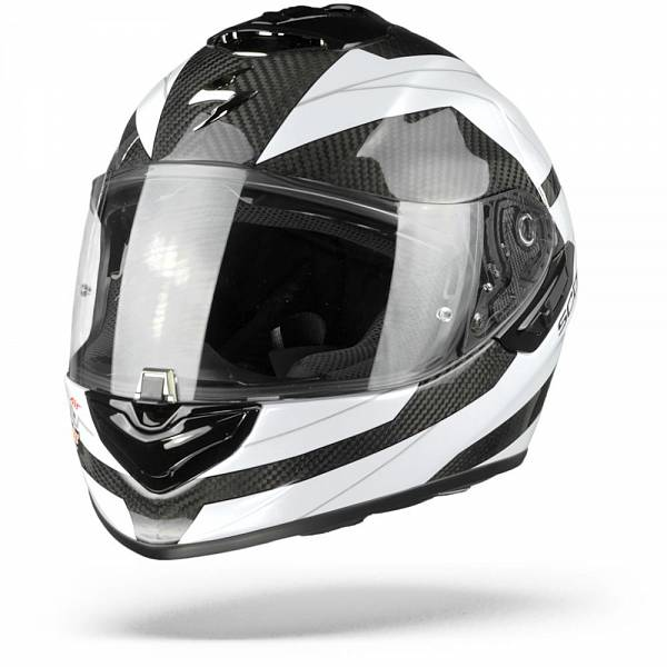 Scorpion EXO-1400 Air Carbon Legione Casque IntŽgral Blanc L