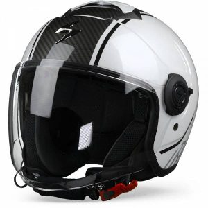Scorpion EXO-City Avenue Casque Jet Blanc Noir L