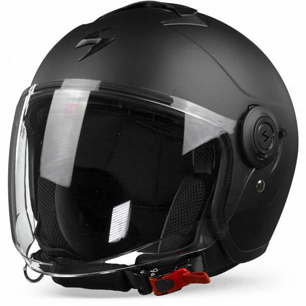 Scorpion EXO-City Casque Jet Noir Mat M