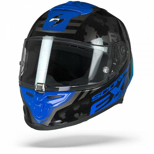 Scorpion EXO-R1 Air Ogi Noir Bleu L