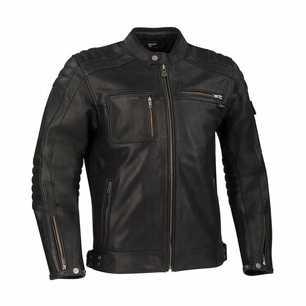 Segura Juan Black Leather Motorcycle Jacket S