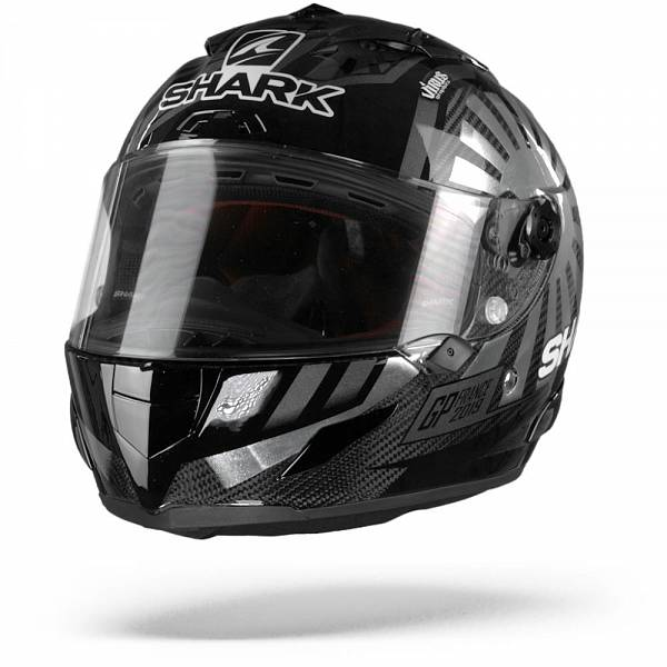 Shark Race-R Pro Carbon Zarco GP France 2019 Casque IntŽgral Carbone Chrome L
